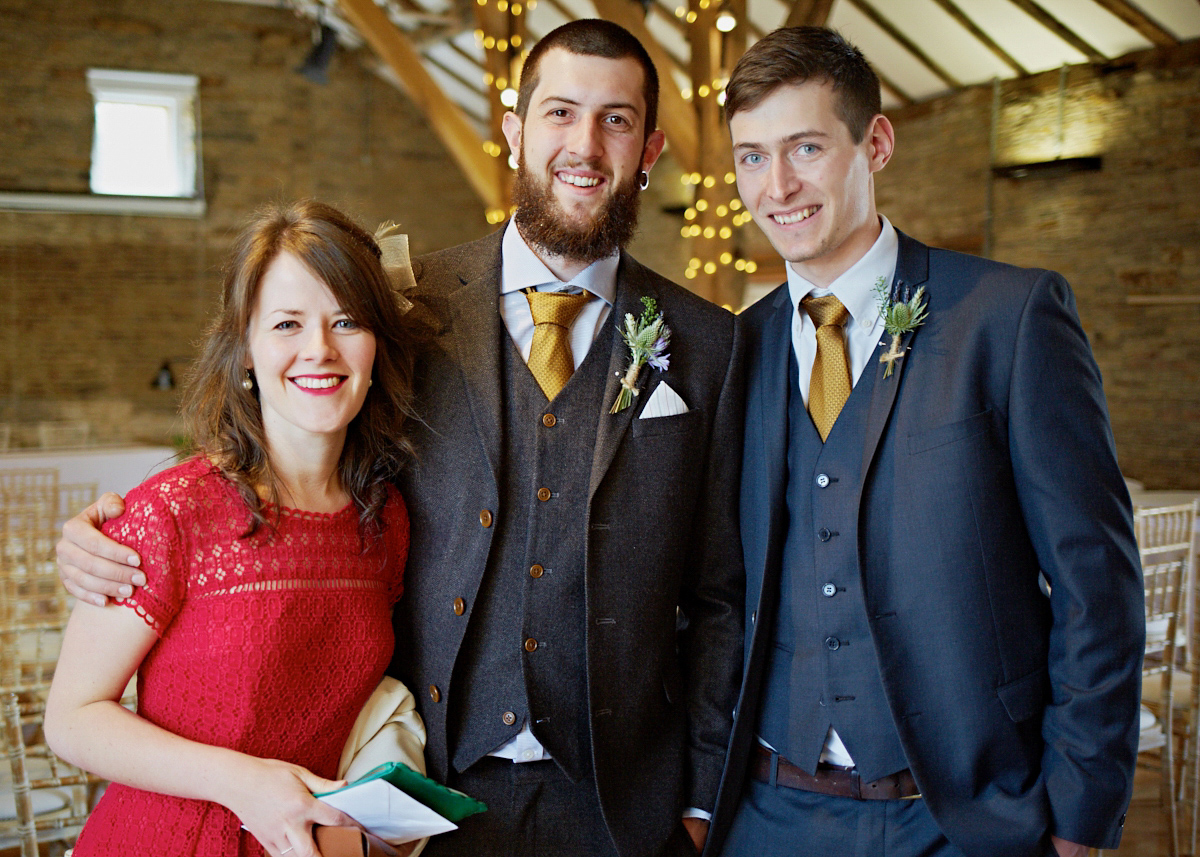 Tom Taylor Our Team Northorpe Hall Child And Family Trust A 1940 S Dress And Cape For A Woodland Inspired Barn Wedding
