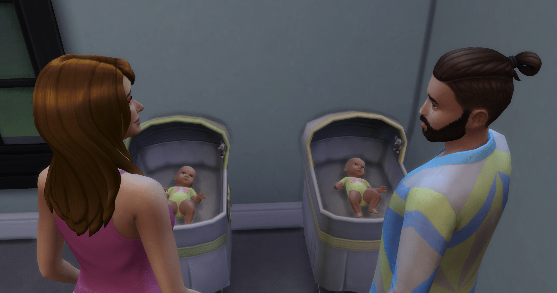 Baby Twins Waking Each Other Up Nom De Plume Chapter 2 – Love My Sims
