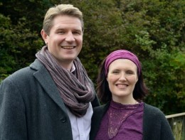 Steve and Emma Jones Phillips, naturopathic nutrition in Wales