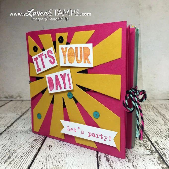 The Pop-Up Corner Album - Birthday Cards that Party! LovenStamps