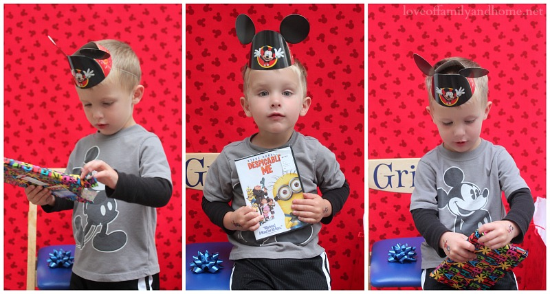 Mickey Mouse Birthday Party Ideas {Griffin Turns THREE} - Love of - mickey mouse boy birthday party ideas