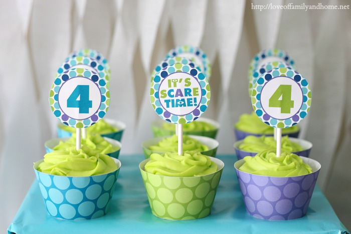 Monsters Inc Birthday Party - Love of Family  Home