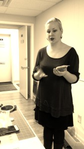 Larissa instructing