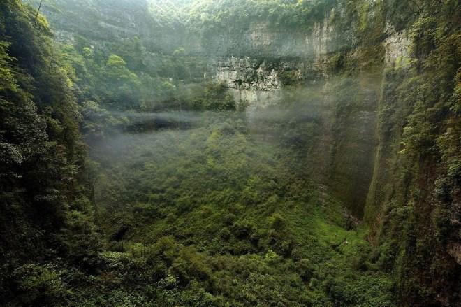 Система пещер Эр Ван Дон в Китае — Затерянный мир на Земле