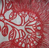 Botanical teatowel prints by Melina Martin