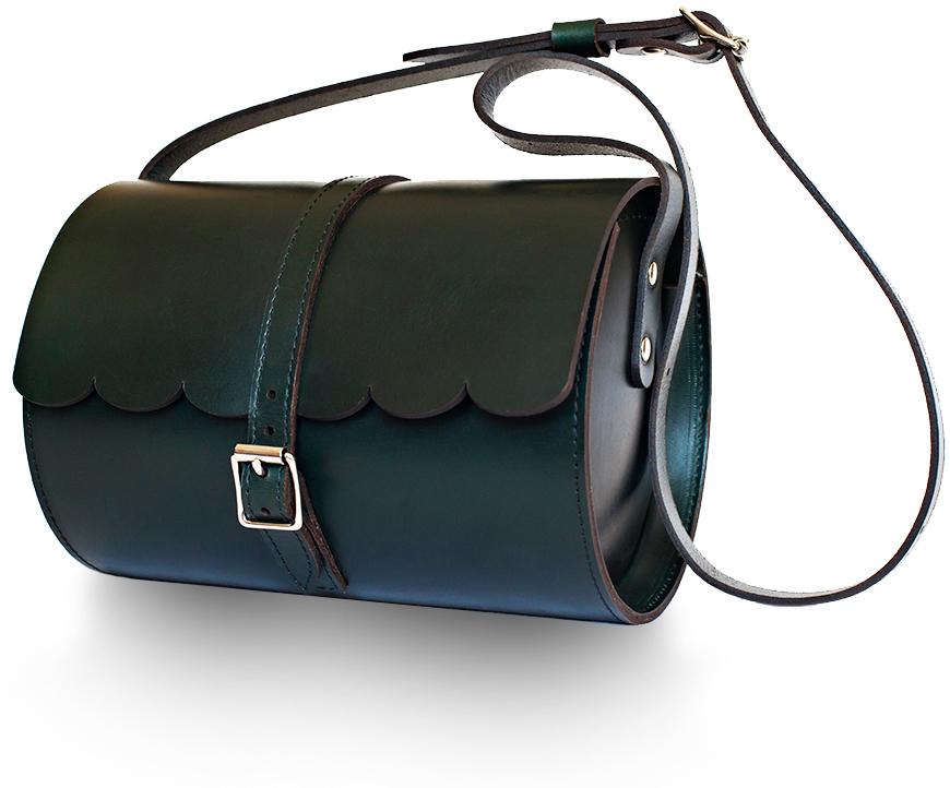 Green Scallop Bag