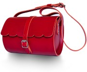 Red Scallop Bag