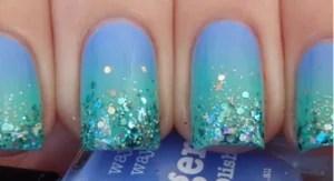 Mermaid Nails Loverosiee