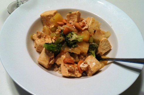 cashew tofu