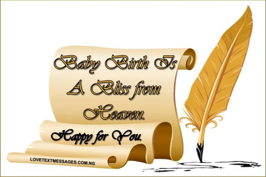 100 Newborn Baby Wishes And Messages For Parents - Love Text