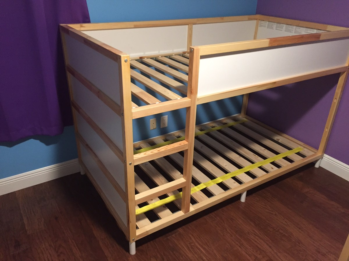 Bank Bed Ikea Ikea Hack: Kura Bunk Bed – Lovethatbluesky