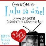 """I Love Lulu"" – a retro birthday party"