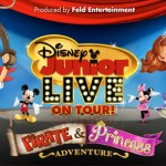 Enter for a Chance to WIN a Family 4-Pack of Tickets for Disney Junior Live on Tour! Pirate & Princess Adventure!