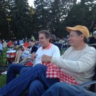 Two of my brothers at Tanglewood
