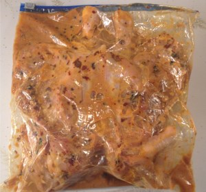 Gran Luchito Buttermilk Marinated Chicken in a bag.