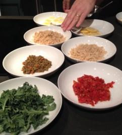 Panera Broth bowls veggies.