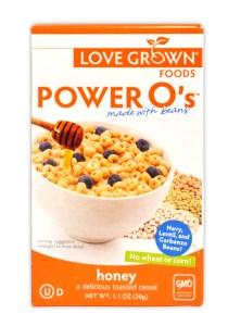 LOVE Grown Foods Power O's.