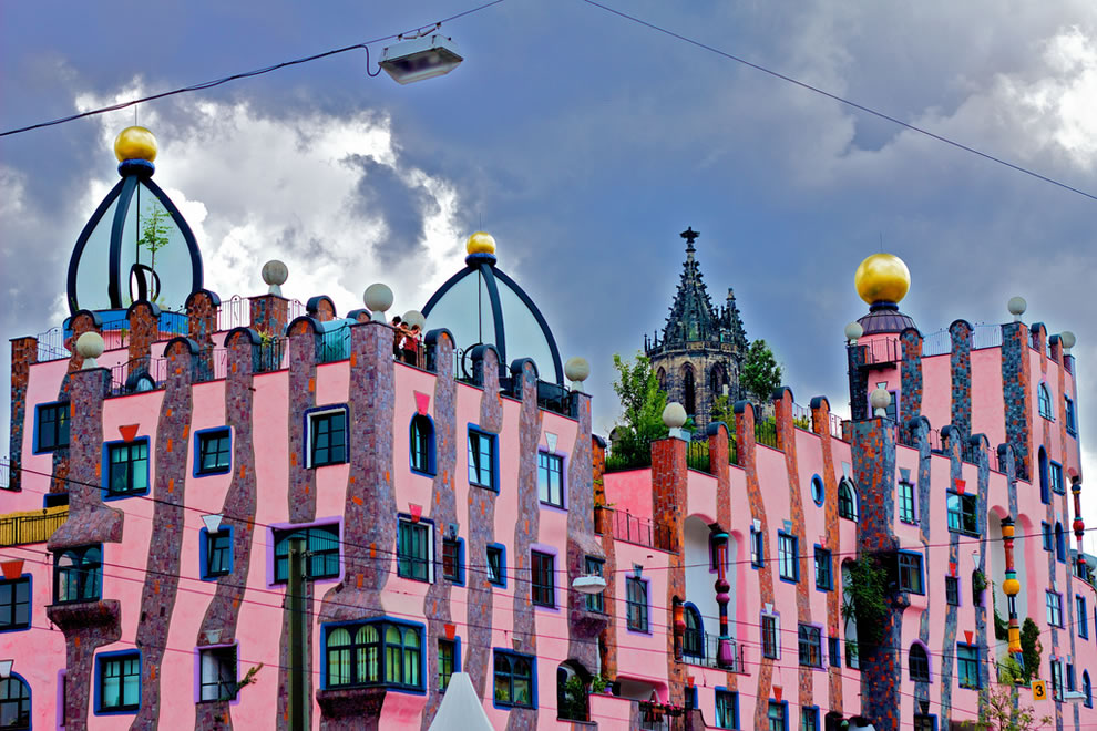 Architekt Magdeburg Unconventional Dr Seuss-like Architecture Of Hundertwasser