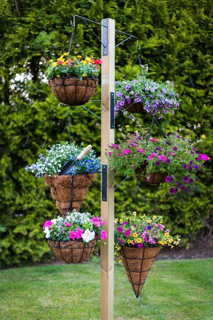 Macetas Decorativas Exteriores Diy Stand For Hanging Baskets Pictures, Photos, And Images