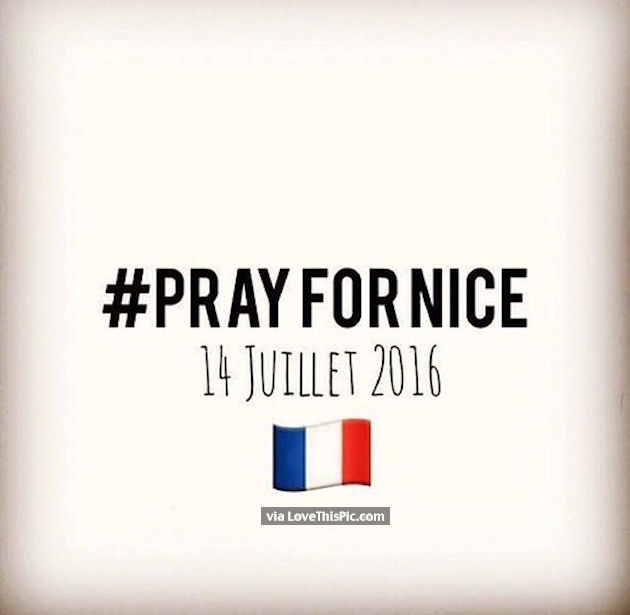 Do It Yourself Pray For Nice 14 Juillet 2016 Pictures, Photos, And Images