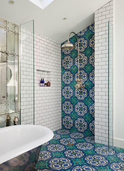 Mat Badkamer Stunning Victorian Bathroom With White Subway Tile