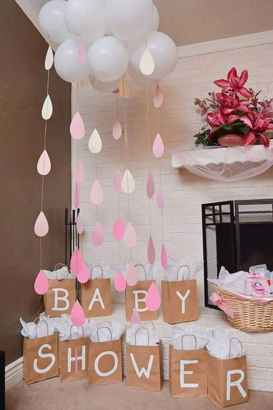 Como Hacer Centro De Mesa Con Globos Baby Shower Gift Bags Pictures, Photos, And Images For