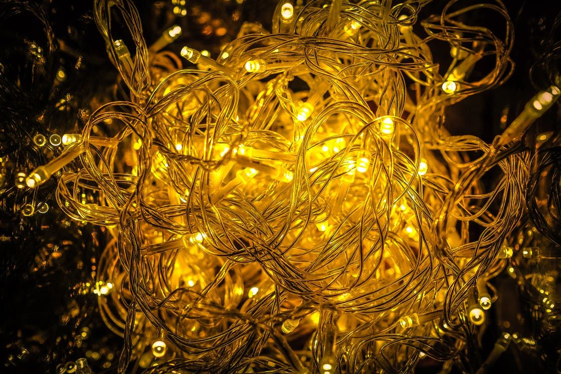 Tangled Yellow Christmas Lights Pictures Photos And Images For Facebook Tumblr Pinterest And Twitter