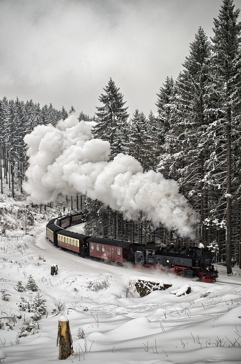 Black Friday In Germany Snow Train Pictures, Photos, And Images For Facebook