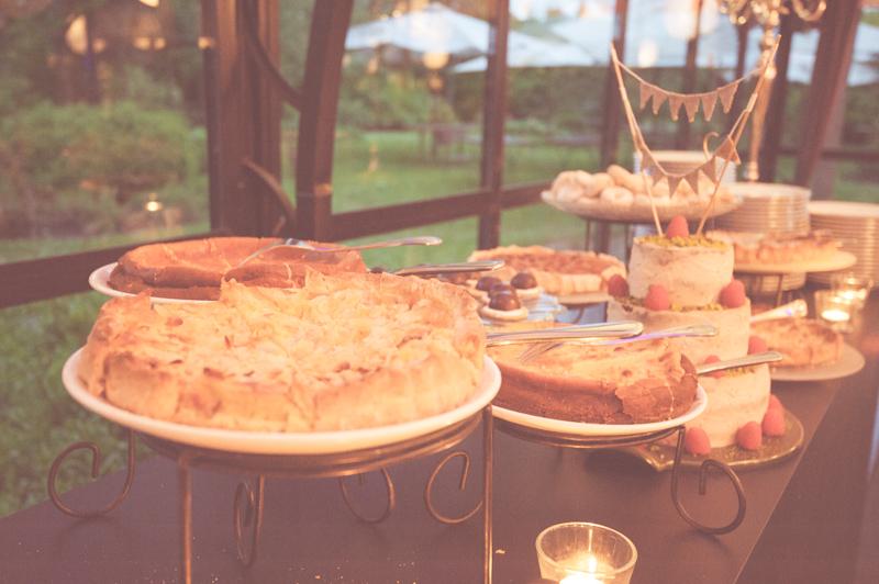 buffet dessert maison