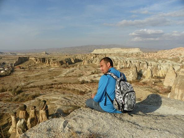 Каппадокия - день 5 - музей Гёреме, долины Kizilcukur, Розовая, Красная, Чавушин