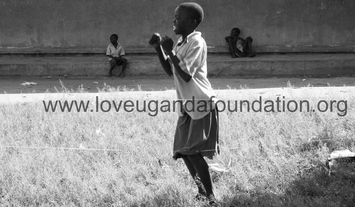 Love Uganda Foundation Charity activity campaigning for girl child education.