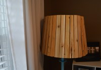 Wood Shim Lamp Shade