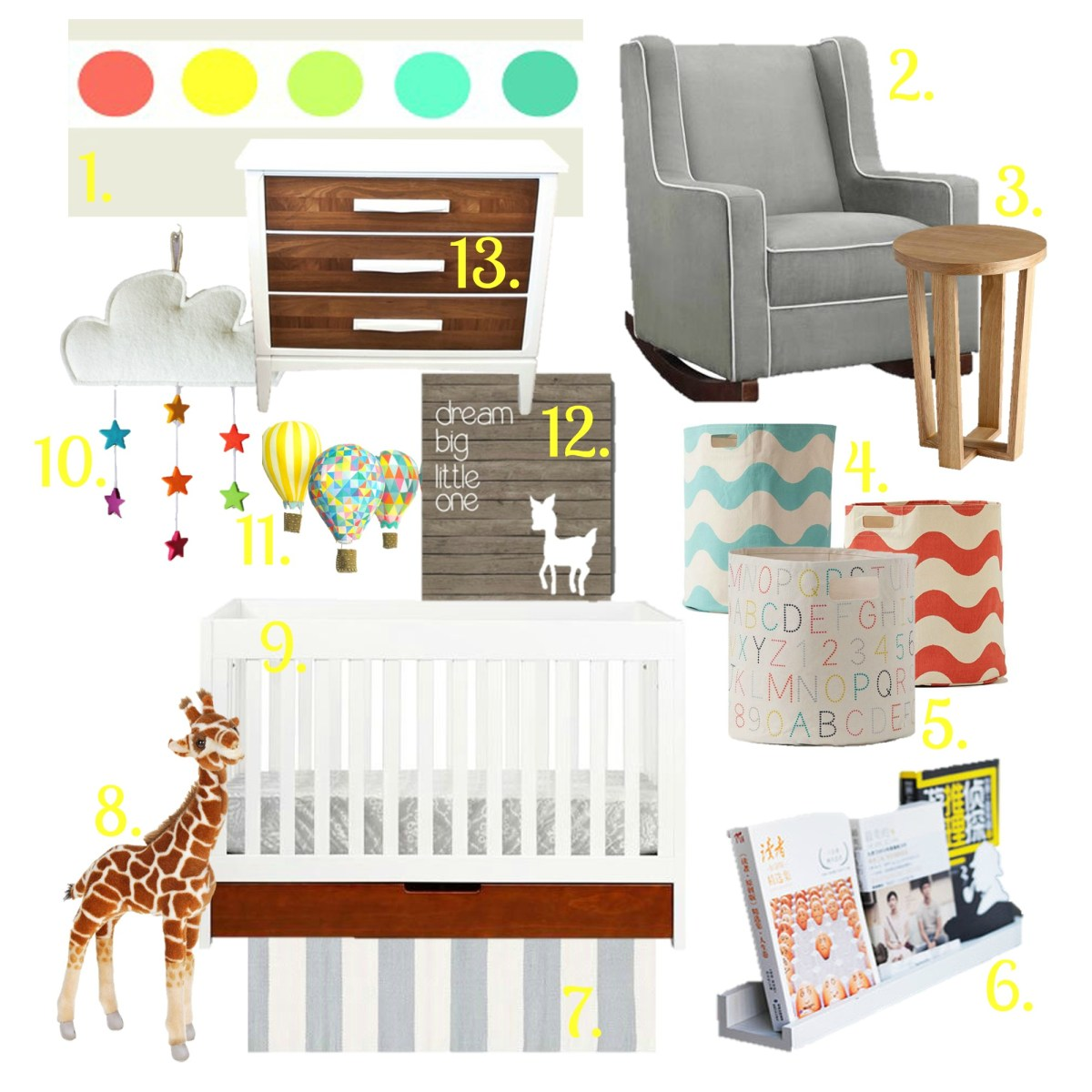 Beginning Beanie's Nursery - Mood Board and Plans