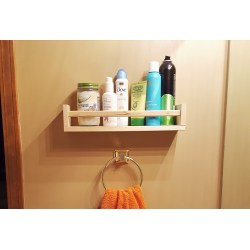 Small Crop Of Bathroom Shelf Rack
