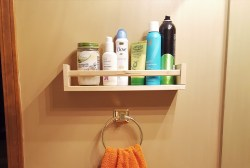 Small Of Bathroom Shelf Rack