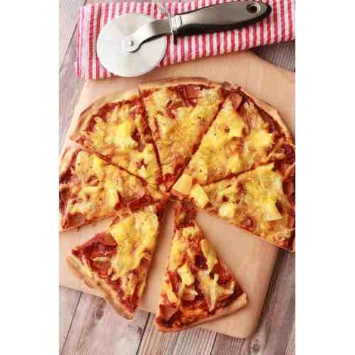 Medium Crop Of Pizza On Pineapple
