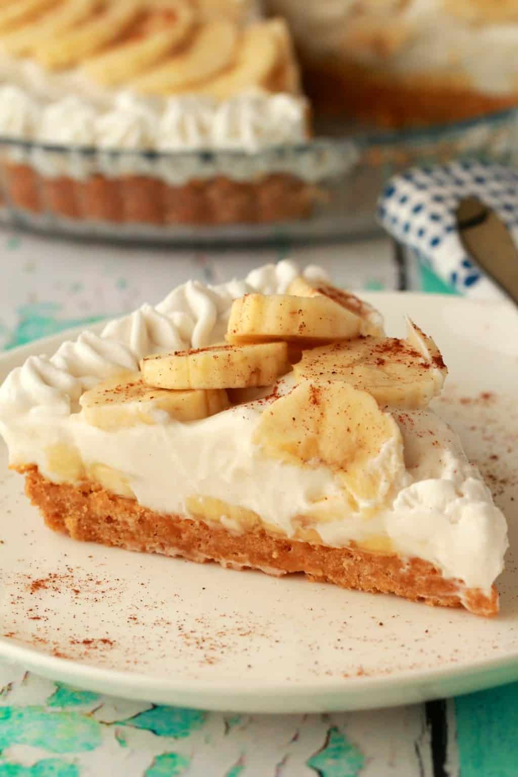 Cocos Kuchen Vegan Banana Cream Pie