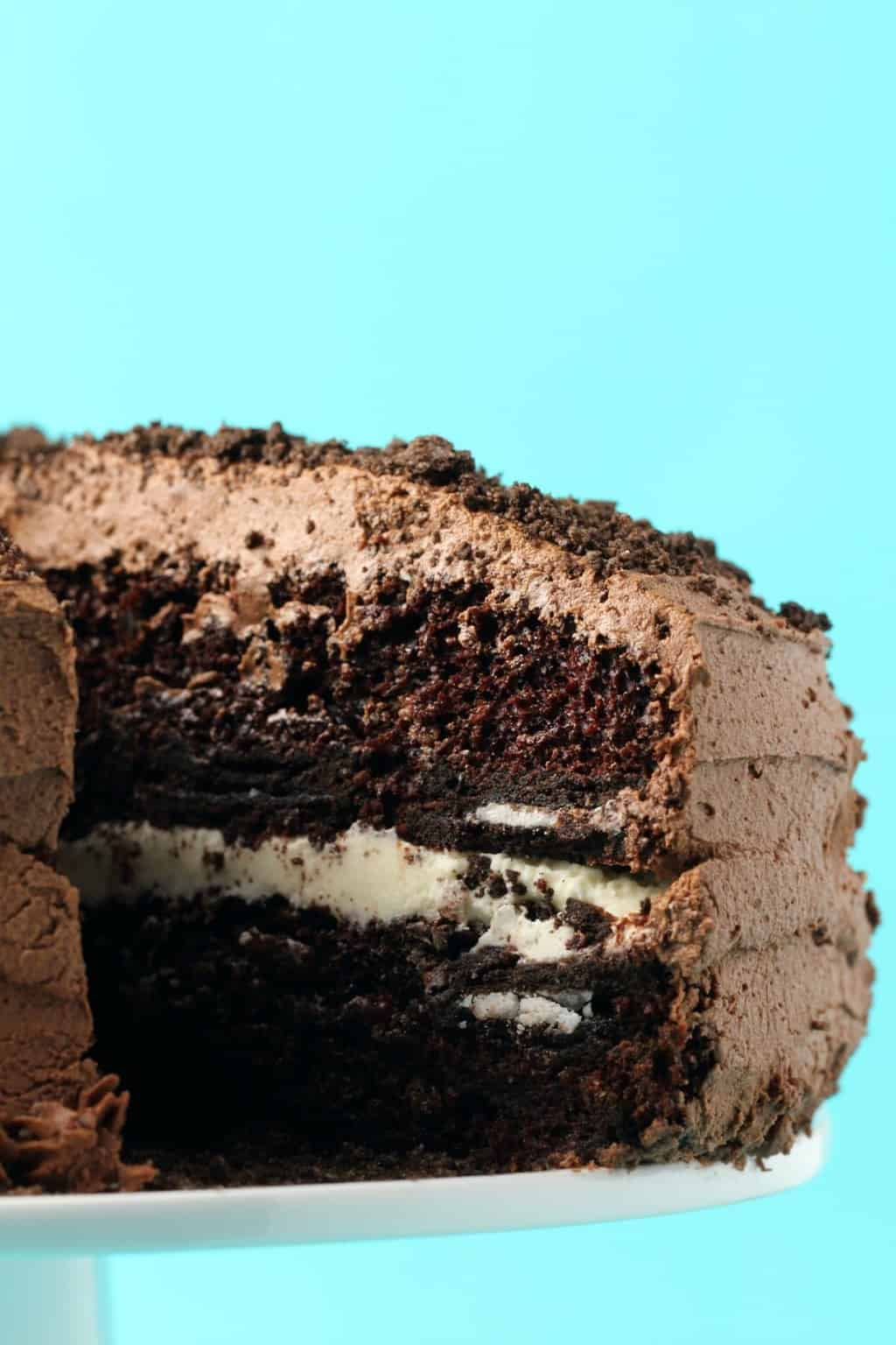 Vegane Oreo Torte Vegan Oreo Cake Loving It Vegan