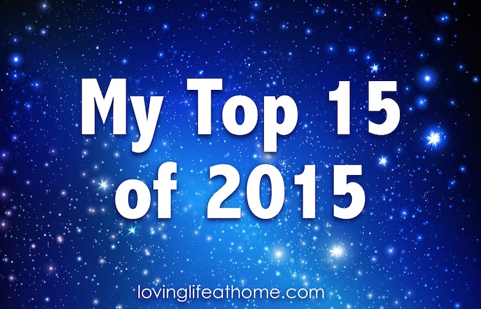 My top 15 posts of 2015. Some good stuff here!