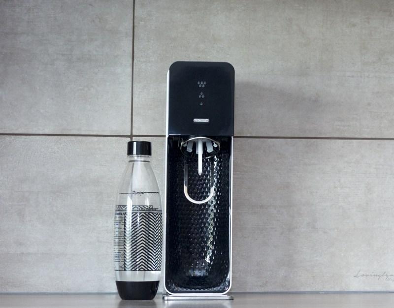 Une eau délicieuse avec Sodastream
