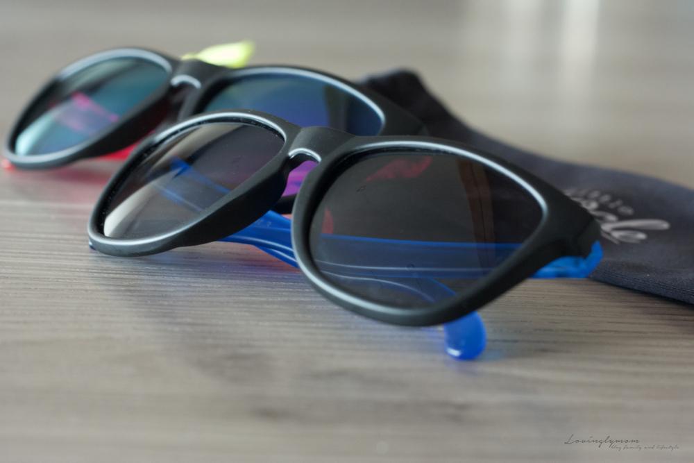Les lunettes de soleil Little Binocle