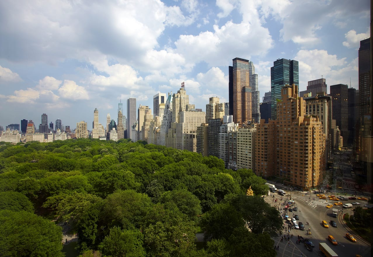 New York Bilder Trump International New York Blick Auf Central Park Und Hudson