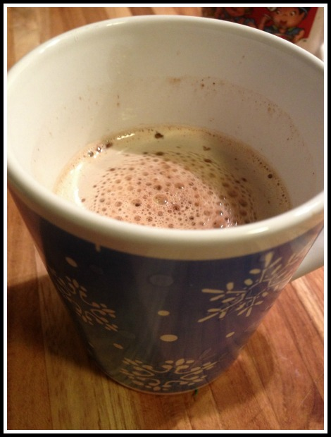 Hot Cocoa as Recovery Drink