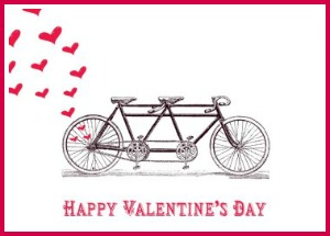 Bicycle Valentine's Day