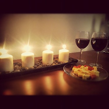 Cena Hd Wallpaper Wine And Cheese With Candles September 2012 171 Loving Wine
