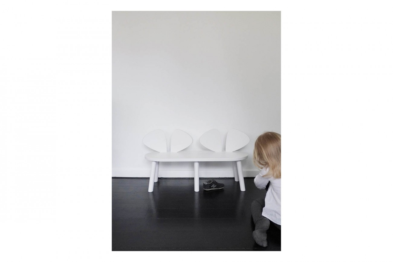 Banc Blanc Banc Mouse Blanc Home And Design Shop
