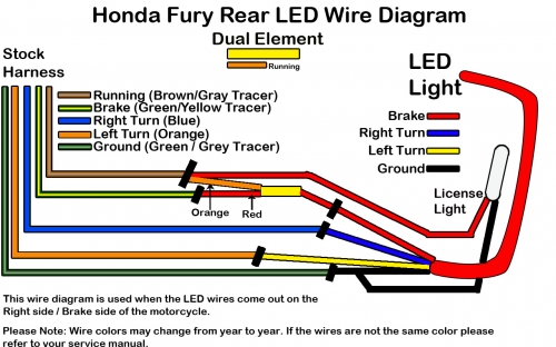 Honda Fury Wiring Diagram - Wiring Diagram Online
