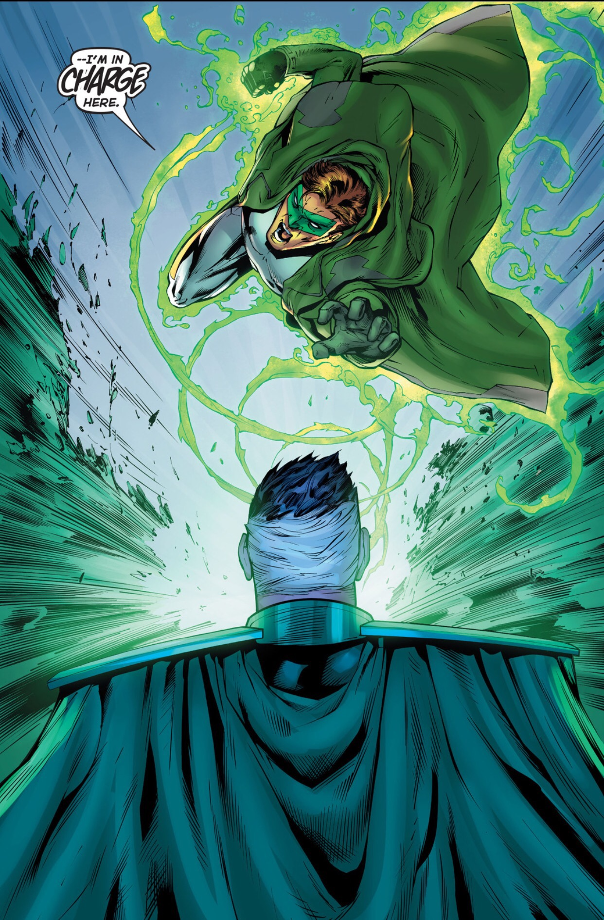 Dc Comics Power Girl Wallpaper Hal Jordan Vs Parallax Green Lantern 40