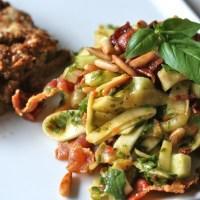 Low carb 'pasta salat'