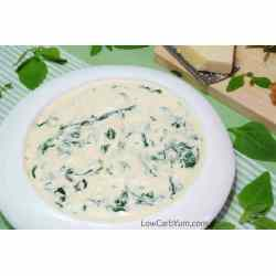 Small Crop Of Keto Creamed Spinach